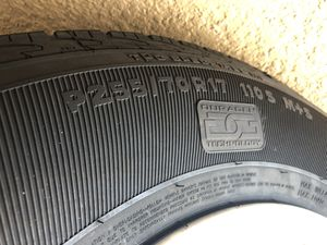 Chevy wheels and tires 255/70/17 for Sale in New Port Richey, FL