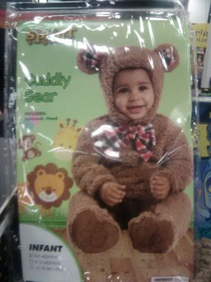 New Halloween Costume Baby 0-6 Mos. Cuddly Bear$40. for Sale in Fresno, CA