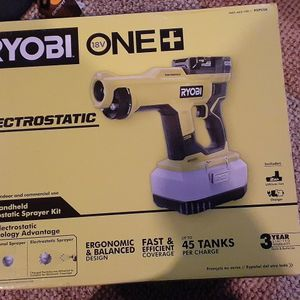 Ryobi electrostatic sprayer for Sale in Monroe Township, NJ