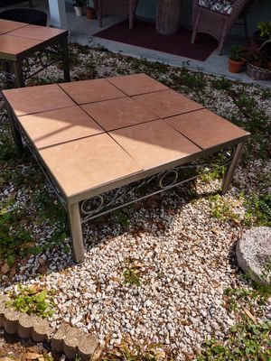 Iron and tile coffee table for Sale in Clearwater, FL