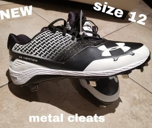 New Men's Under Armour cleats size 12 for Sale in Monrovia, CA