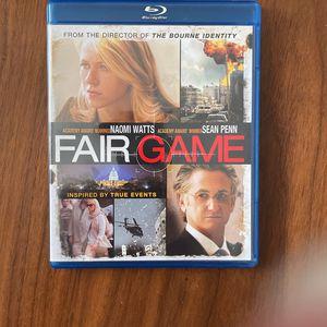 Fair Game - BluRay DVD for Sale in Arlington, VA