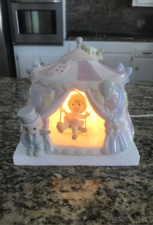 Precious Moments Circus Tent Swing Trapeze Night Nite Light for Sale in Villa Park, CA