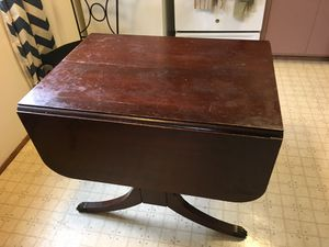 Sturdy kitchen table with fold down eaves for Sale in Seattle, WA