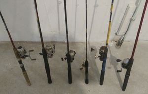 Fishing rod reel equipment for Sale in Fitchburg, WI