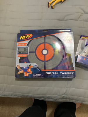Nerf digital target for Sale in Palm Beach Gardens, FL