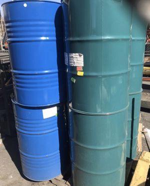 BARRELS drums TRASH CANS 55 Gallon RAIN BARRELS $10-20 for Sale in Benicia, CA
