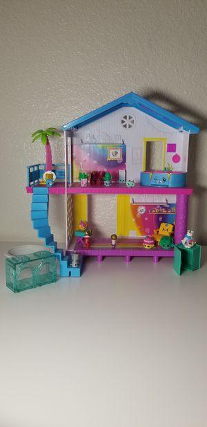 Shopkins house and shopkins, adorable toys for Sale in Sacramento, CA