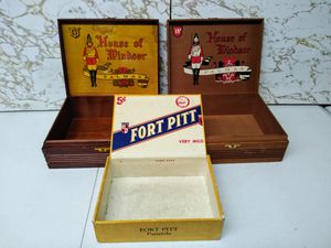 1950s Vintage Cigar Boxes for Sale in Monroeville, PA