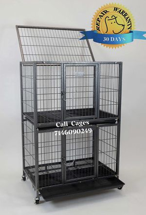 Two tiers dog pet cage kennel size 31 inch new in box 📦 for Sale in Pomona, CA