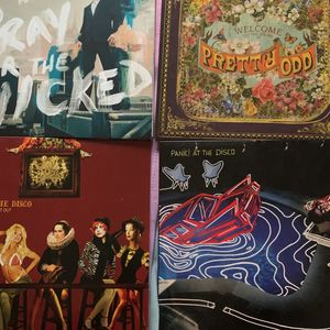 Panic At The Disco Vinyl Collection for Sale in Cumberland, RI