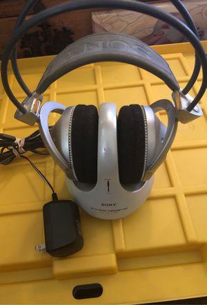 Sony Wireless RF Stereo Transmitter Headphone for Sale in Hazelwood, MO