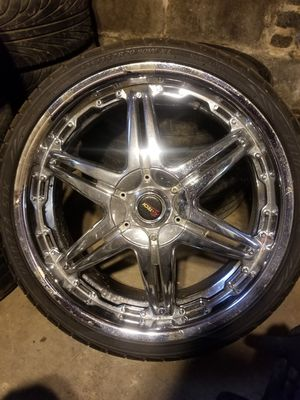 20 inch rims 4 lug universal for Sale in Philadelphia, PA