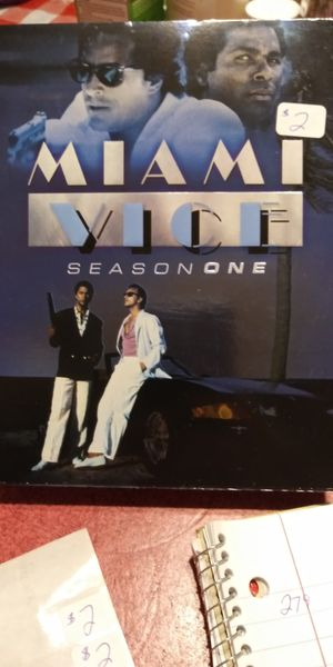 Miami Vice - Season 1 3 disc set for Sale in Brainerd, MN