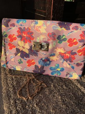 ALDO floral crossbody purse for Sale in Rancho Cucamonga, CA