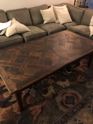 Vintage Wood Coffee Table for Sale in Santa Monica, CA