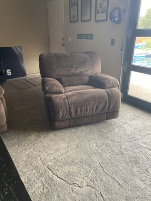 Reclining couch and chair for Sale in East Wenatchee, WA