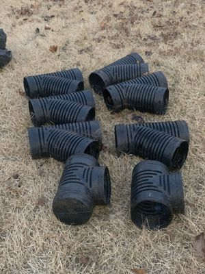"""6"""" corrugated fittings. for Sale in Spartanburg, SC"""