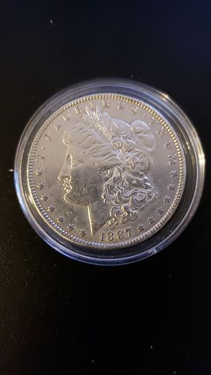 1887 MORGAN SILVER DOLLAR COIN! for Sale in West Springfield, VA