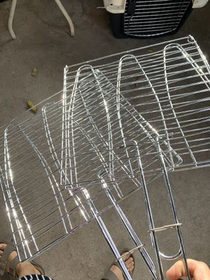 TWO BRAND NEW BBQ Grill Baskets (accessories) for Sale in Azusa, CA