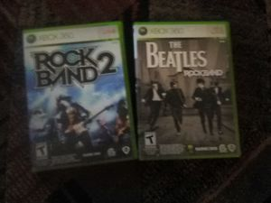 XBox 360 (2) games for Sale in Cleveland, OH
