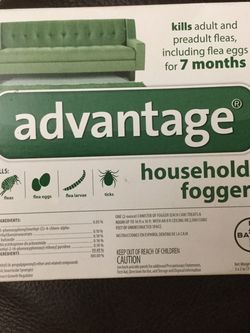 Advantage household fogger kills fleas ticks up to 7 months $20 BRAND NEW for Sale in Hialeah,  FL