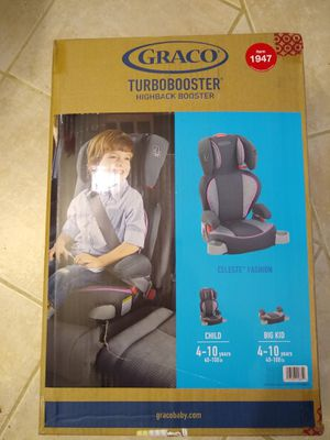 Graco Turbo Booster High back Booster for Sale in Phoenix, AZ