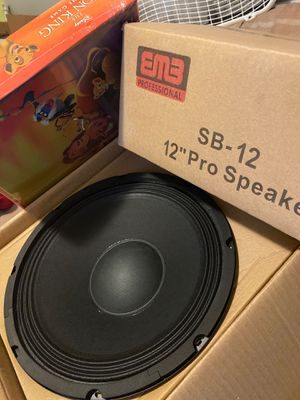 12'' pro speakers 🔊 for Sale in Springfield, MA