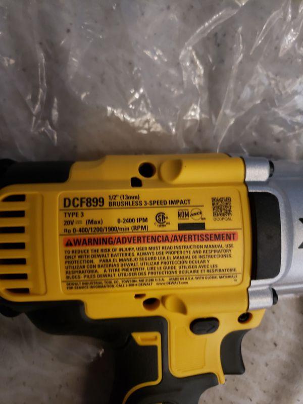 Dewalt XR impact wrench 1/2