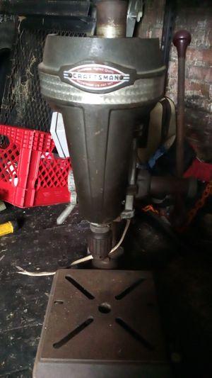 Old Craftsman drill press still works new plug end for Sale in Marietta, PA