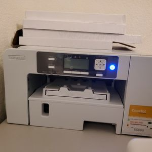 Sawgrass SG 500 PRINTER , SUBLIFLEX 202 PAPER & TEXTR SUBLIMATION PAPER for Sale in Antioch, CA