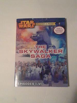 starwars poster book for Sale in DeFuniak Springs, FL
