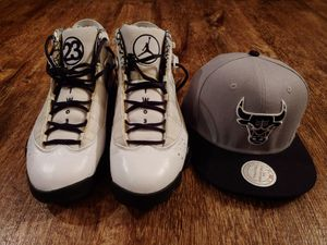NIKE Air Jordan 6 Rings HOF Men's athletic shoes size 11 w/ Hat!!! for Sale in Springfield, IL