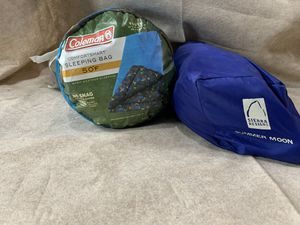 Coleman sleeping bag and Dome tent for Sale in Amanda, OH