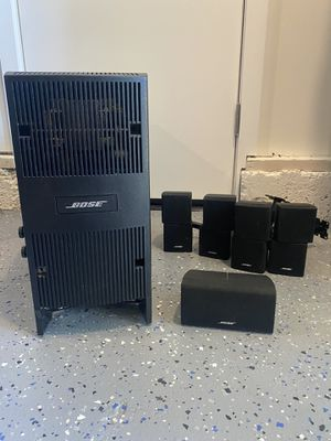 Bose Acoustimass 10 Series iV home theater speaker system for Sale in Concord, CA