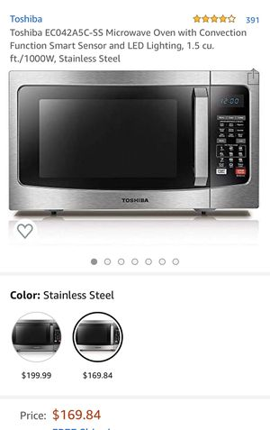 Toshiba microwave for Sale in Norwalk, CA