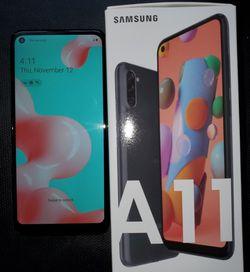 Unlocked Samsung galaxy A11 new/open Box for Sale in Renton,  WA