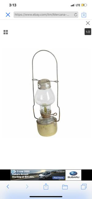Mercana Global Curiosities, Industrial Lantern With Gold Finish 53 for Sale in High Point, NC