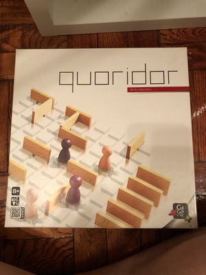 Like new Quoridor puzzle game - used one time for Sale in Washington, DC