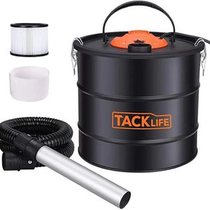 Ash Vacuum with 5 Gallon Capacity and 800w Fireplace, Portable ash Collectors with Metal Hose and Aluminum Nozzle for fireplaces, Wood stoves, Pellet for Sale in Ontario, CA