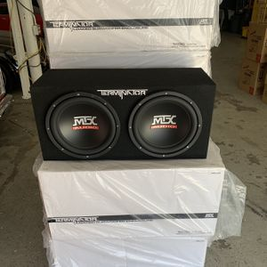Mtx Car Audio . 12 Inch Car Stereo Subwoofers And Box . Extended Holiday Super Sale . $119 While They Last . New for Sale in Mesa, AZ