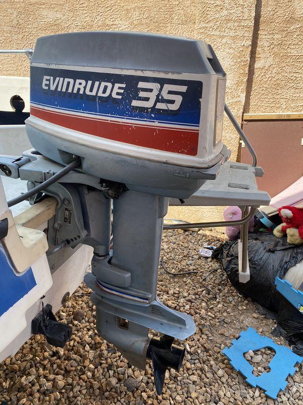 Evinrude 1985 35HP outboard