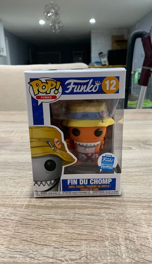 Fin Du Chomp Funko Shop Exclusive limited edition for Sale in Woodway, WA