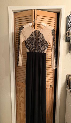 Black nude lace formal dress for Sale in Chula Vista, CA