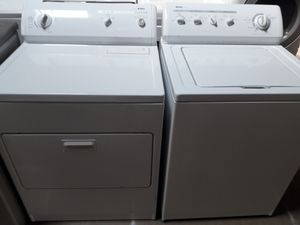 Kenmore washer and dryer set nice condition working perfectly clean and neat warranty and deliver for Sale in Linthicum Heights, MD