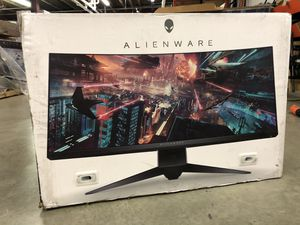 Alienware 34-inch Curved 144Hz G-Sync 2560x1080 Gaming Monitor for Sale in WILOUGHBY HLS, OH