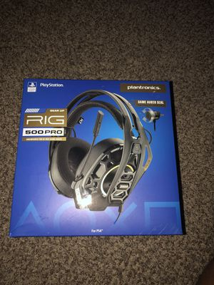 Ps4 gaming headphones for Sale in Houston, TX