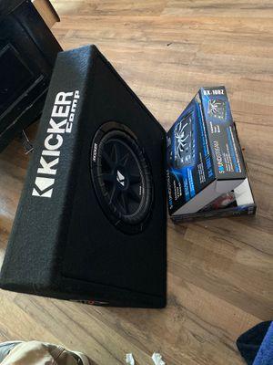 """Kicker subwoofer""and ""sound stream"",bass restoration processor"" for Sale in Sun City, AZ"