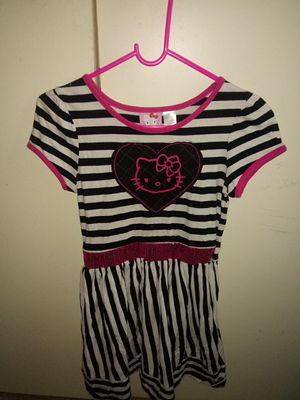 Vestido hello kitty size 10/12 for Sale in Mesquite, TX