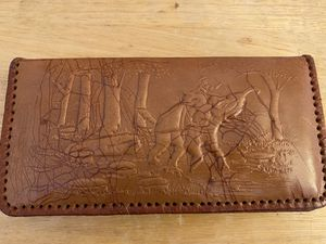 Ox leather wallet for Sale in Pacifica, CA